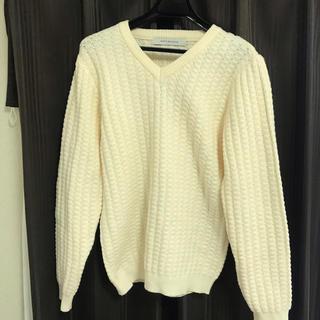 メンズメルローズ(MEN'S MELROSE)のMEN'S MELROSEの春セーター(ニット/セーター)