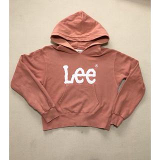 リー(Lee)のearthとlee  コラボパーカー ピンク(パーカー)