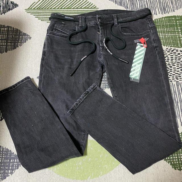 OFF-WHITE(オフホワイト)のOff-White and LACOSTEパーカー メンズのパンツ(デニム/ジーンズ)の商品写真