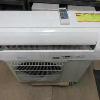 ミツビシデンキ(三菱電機)のK1141 三菱 中古エアコン 主に8畳用 冷2.5kw/暖2.8kw(エアコン)