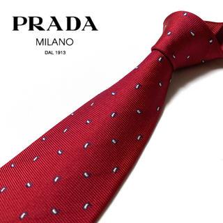 プラダ(PRADA)の【超美品】PRADA ネクタイ イタリア製 ペイズリー柄(ネクタイ)