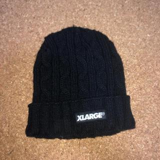 エクストララージ(XLARGE)の【値下げしました】XLARGE ニット帽 ビーニー(ニット帽/ビーニー)