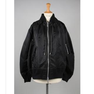 sacai - sacai サカイMa-3xMelton Jacket-Black