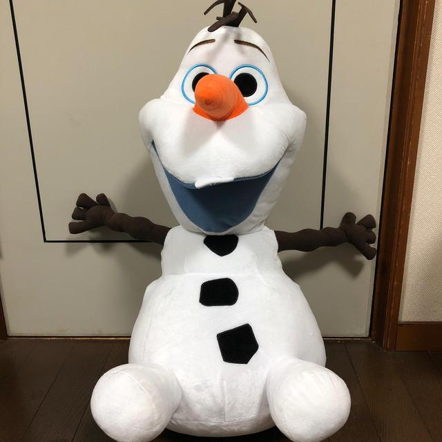 Disney(ディズニー)のオラフ ぬいぐるみ エンタメ/ホビーのおもちゃ/ぬいぐるみ(ぬいぐるみ)の商品写真