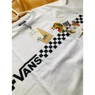 ヴァンズ(VANS)の定価の半額以下!! VANS  オーバーサイズ Tシャツ Mサイズ バンズ(Tシャツ(半袖/袖なし))