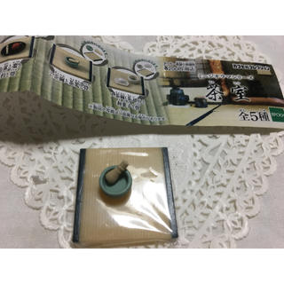 エポック(EPOCH)のミニジオラマシリーズ    茶室    茶碗と茶筅と畳   新品未使用(その他)
