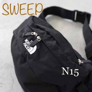 THE NORTH FACE - ノースフェイス スウィープ ブラック SWEEP  NM 71904