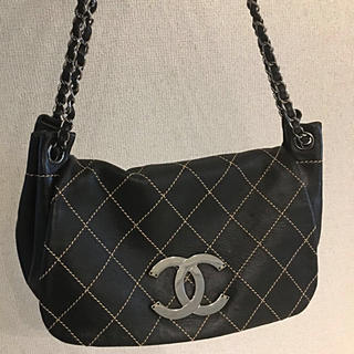 CHANEL - シャネル正規美品デカココマークチェーンバッグ