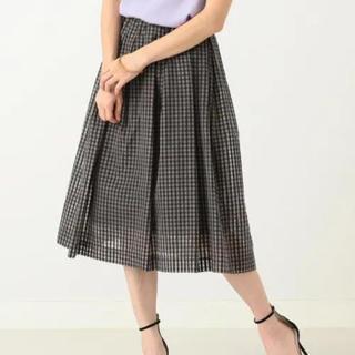 Demi-Luxe BEAMS - Demi-Luxe BEAMS ギンガムチェック スカート