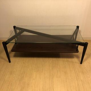 アクタス(ACTUS)のアクタス ガラステーブル(ローテーブル)