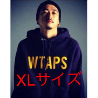 W)taps - wtaps 16ss design hooded XLサイズ パープル