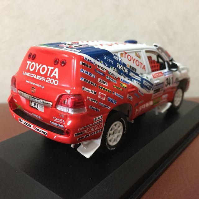ノレブ トヨタ ランドクルーザー 200  ダカールラリー  エンタメ/ホビーのおもちゃ/ぬいぐるみ(ミニカー)の商品写真