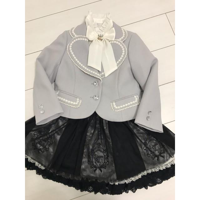 フォーマル三点セット⭐︎ キッズ/ベビー/マタニティのキッズ服女の子用(90cm~)(ドレス/フォーマル)の商品写真