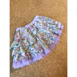 KP - 美品♡KP♡リバーシブルフリルスカート♡90cm