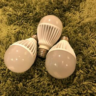 アイリスオーヤマ(アイリスオーヤマ)のアイリスオーヤマLED電球ldab8l-h-6t1nt  60w相当3個セット(蛍光灯/電球)