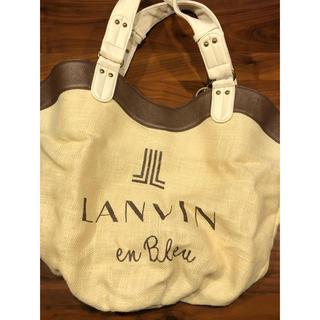 LANVIN en Bleu - LANVIN en bleu大きめトートバック