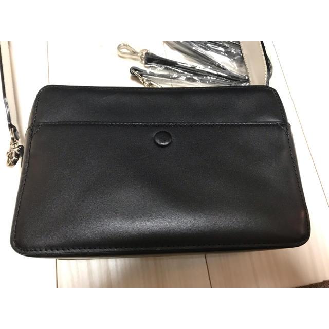 DEUXIEME CLASSE(ドゥーズィエムクラス)のYONFA スクエアショルダーバッグ レディースのバッグ(ショルダーバッグ)の商品写真