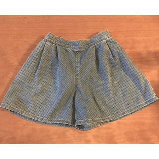 GU - デニムキュロットスカート