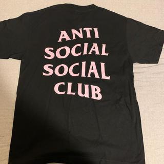 シュプリーム(Supreme)のAnti social social club tee M(Tシャツ/カットソー(半袖/袖なし))