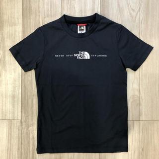THE NORTH FACE - 【海外限定】新作 TNF ノースフェイス キッズ 3Dロゴ Tシャツ ネイビー