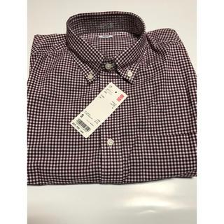 UNIQLO - チェックシャツ メンズ