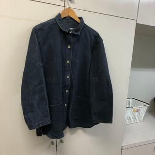 ポロラルフローレン(POLO RALPH LAUREN)のoboush カバーオール デニムジャケット USA製 vintage 古着 出(カバーオール)