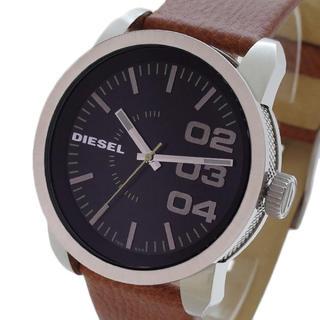 ディーゼル(DIESEL)のディーゼル DIESEL腕時計 メンズ DZ1513クォーツ ブラック ブラウン(腕時計(アナログ))