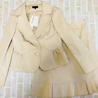 トゥービーシック(TO BE CHIC)の入学式 卒業式 スーツ ふんわりスーツ 未使用 42 TO BE CHIC 新品(スーツ)