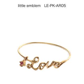 イーエム(e.m.)の18k e.m. little emblem ピンキーリング ファランジリング(リング(指輪))