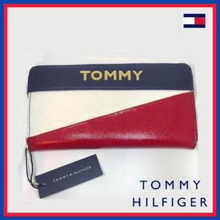 TOMMY HILFIGER - 日本未入荷★TOMMY トミー ゴールド ロゴ ジップ ウォレット