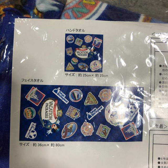 Disney(ディズニー)のバケーションパッケージ タオルセット エンタメ/ホビーのコレクション(ノベルティグッズ)の商品写真