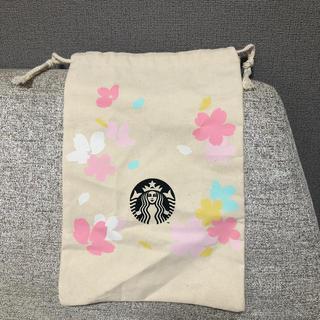 スターバックスコーヒー(Starbucks Coffee)のスターバックス さくら巾着(ポーチ)