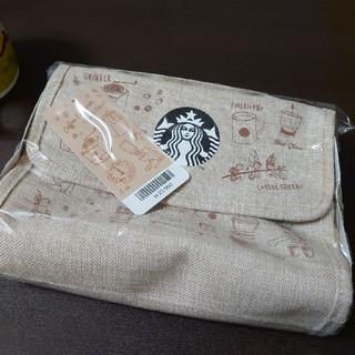 スターバックスコーヒー(Starbucks Coffee)の新品未使用 韓国トラベルポーチ(ポーチ)
