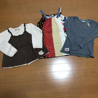 ビケット(Biquette)の女の子 3枚 まとめ セット ビケット ユッピー 110  120(Tシャツ/カットソー)