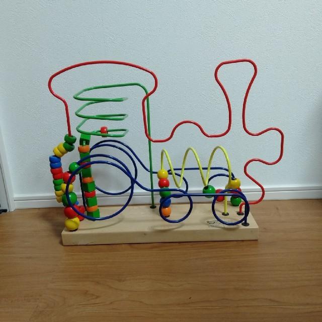 BorneLund(ボーネルンド)のボーネルンド ルーピング 汽車 キッズ/ベビー/マタニティのおもちゃ(知育玩具)の商品写真
