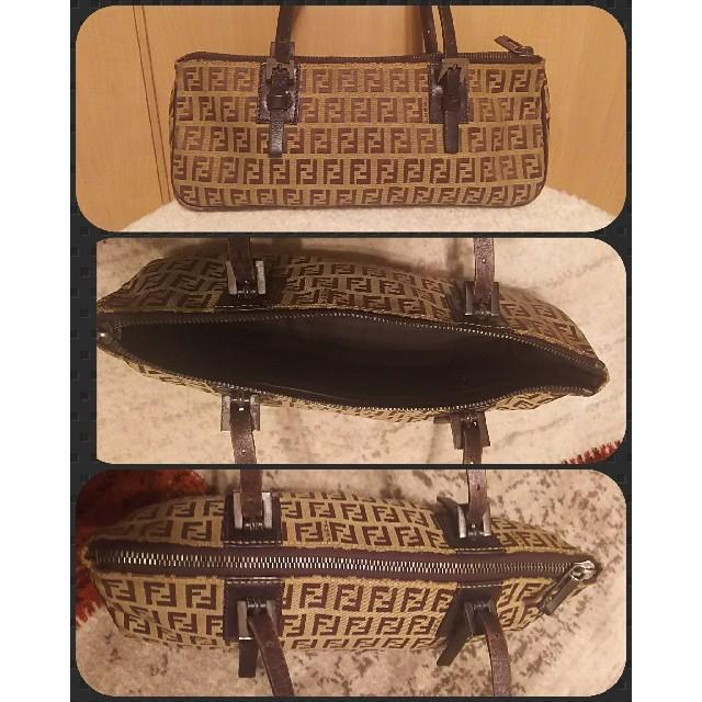 FENDI(フェンディ)のFENDI*フェンディズッカ柄 ズッキーノミニバッグ レディースのバッグ(ハンドバッグ)の商品写真