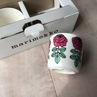 marimekko - 廃盤品!【未使用】マリメッコ ラテマグ ヴィヒルキーズ ピンク 2個セット