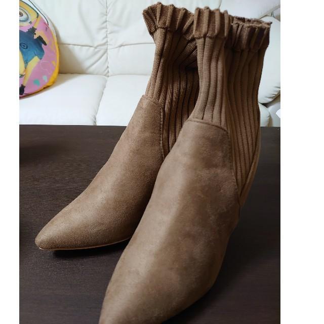 who's who Chico(フーズフーチコ)のwho'swhoChico新品未使用ブーツ レディースの靴/シューズ(ブーティ)の商品写真