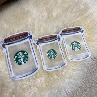 Starbucks Coffee - スタバジッパーバック大1枚小2枚