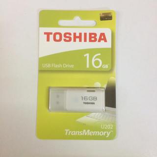 【510円で送料無料】東芝 USB メモリ 16GB(PC周辺機器)