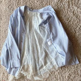 クリーン(CLEAN)のClean2   ストライプシャツ(シャツ/ブラウス(長袖/七分))
