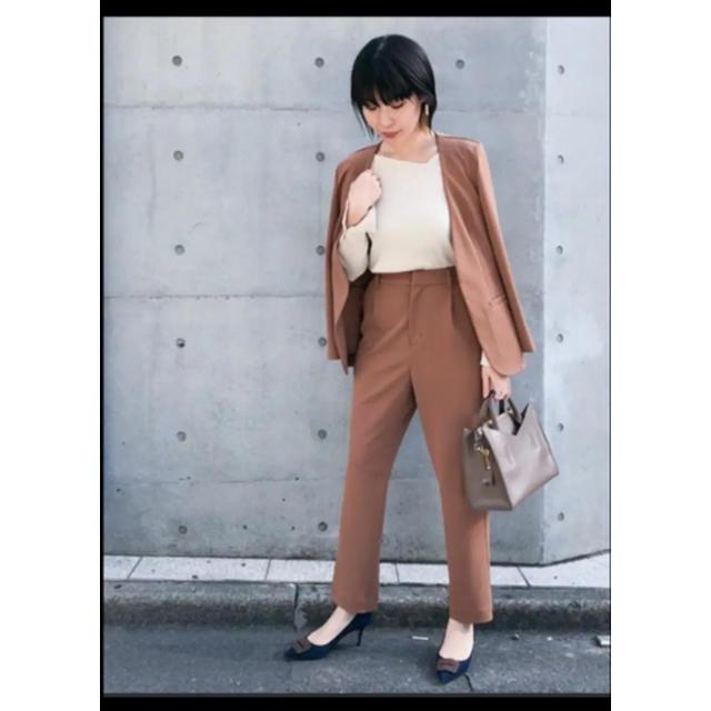nano・universe(ナノユニバース)の大人気完売 ナノユニバース nano セットアップ スーツ オフィスカジュアル レディースのフォーマル/ドレス(スーツ)の商品写真