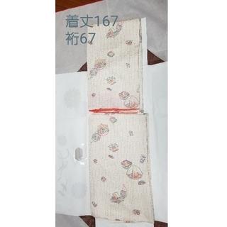 小紋 正絹 未使用 トールサイズ(着物)