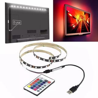 大人気!取付超かんたん^_^ 液晶テレビ RGB LED 間接照明 バックライト(天井照明)