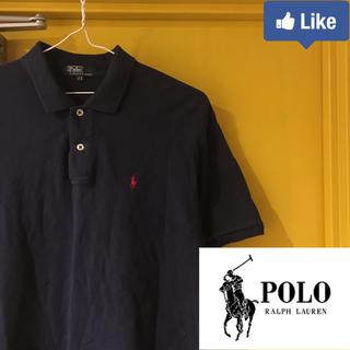 POLO RALPH LAUREN - 【値下げ交渉可】ポロ ラルフローレン メンズ ポロシャツ  ネイビー 170