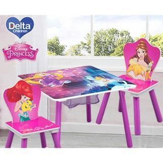 Disney - 新品♪ディズニー プリンセス テーブル&チェア2脚
