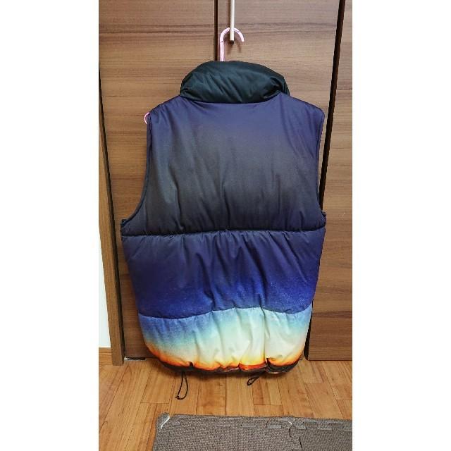 APPLEBUM(アップルバム)の定価30,000円 applebum sunshine ダウンベスト  Lサイズ メンズのジャケット/アウター(ダウンベスト)の商品写真