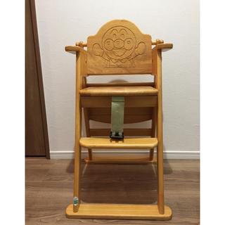 アンパンマン - アンパンマン 木製チェア 椅子 子供用