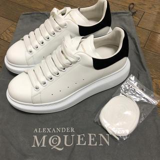 アレキサンダーマックイーン(Alexander McQueen)の新品未使用 Alexander McQueen レザー スニーカー(スニーカー)