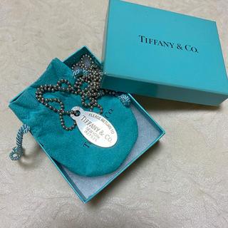 Tiffany & Co. - Tiffany リターントゥーティファニー オーバルタグネックレス